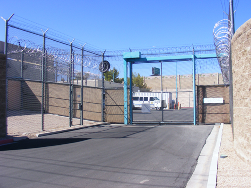 Las Vegas Detention Center Inmate Search - Entrance Gate C